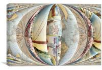 alternative travel, Canvas Print