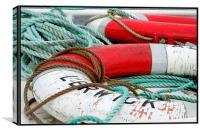 Lerwick fishing boat, Canvas Print