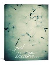 just breathe..., Canvas Print