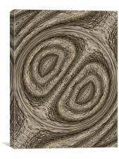 tree bark abstract, Canvas Print