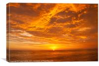 Pacific Sunset, Canvas Print