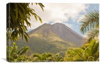 volcan Arenal Costa Rica, Canvas Print