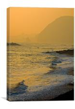 Sidmouth Seafront, Canvas Print