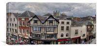 Exeter City Centre, Canvas Print