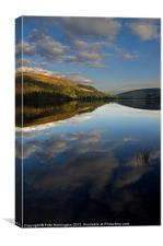 Derwent Reservoir in the Peak District, Canvas Print