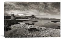 Ladram Bay - East Devon, Canvas Print
