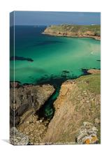 Nanjizal Beach - Cornwall, Canvas Print