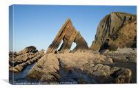 Blackchurch Rock - N Devon, Canvas Print
