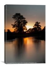 Culm River - Mid Devon, Canvas Print