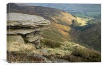 Edale View, Canvas Print