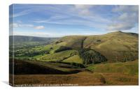 Edale and Grindslow Knoll, Canvas Print