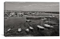 Newlyn Harbour, Canvas Print