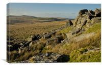 Oke Tor on Dartmoor, Canvas Print