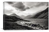 Wastwater in The Lake District, Canvas Print