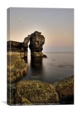 Pulpit rock on Portland Bill, Canvas Print