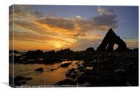 Blackchurch Rock, N Devon - 2 of 2, Canvas Print
