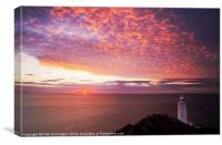 Sunrise at Start Point, Canvas Print