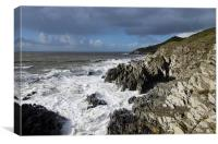 Woolacombe to Morte Point, Canvas Print
