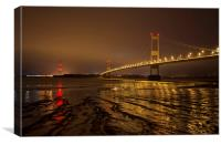 The Old Severn Bridge, Canvas Print