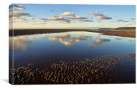 Saunton Sands Devon, Canvas Print