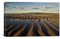 Saunton Sands Devon, Canvas Print
