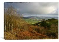 Looking into Edale, Canvas Print