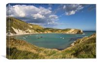 Lulworth Cove Dorset, Canvas Print