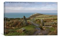 Bosigran in North Cornwall, Canvas Print