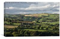 The Edge of Sheffield, Canvas Print