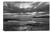 Dusk over Constantine Bay , Canvas Print