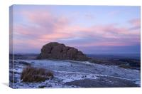 Haytor on Dartmoor, Canvas Print