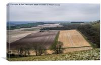 Little Heaven near Ringmer, Canvas Print