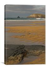 Treyarnon - N Cornwall, Canvas Print