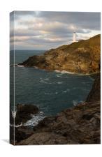 Trevose Head Lighthouse, Canvas Print