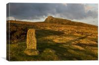 Haytor on Dartmoor, Canvas Print