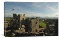 Raglan Castle - Wales, Canvas Print
