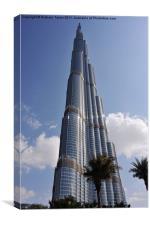 Burj Khalifa 1, Canvas Print