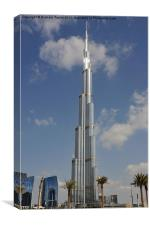 Burj Khalifa 2, Canvas Print