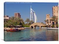 Burj Al Arab Hotel, Canvas Print