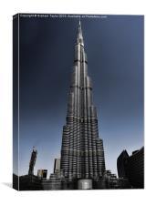 Burj Khalifa 3, Canvas Print