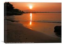Langkawi Sunrise, Canvas Print