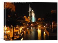 Burj Al Arab, Canvas Print
