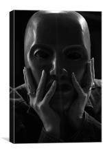 masked, Canvas Print