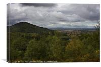 The Wrekin Viewed From The Ercall, Canvas Print