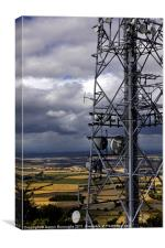 The Wrekin Communications Tower, Canvas Print