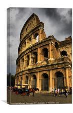 The Colosseum, Canvas Print