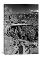 The Colosseum., Canvas Print