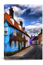 Bridge Street Bungay, Canvas Print