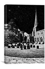 The Church Of St Mary The Virgin Hadleigh Suffolk, Canvas Print