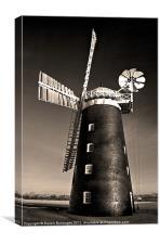 Pakenham Windmill, Canvas Print